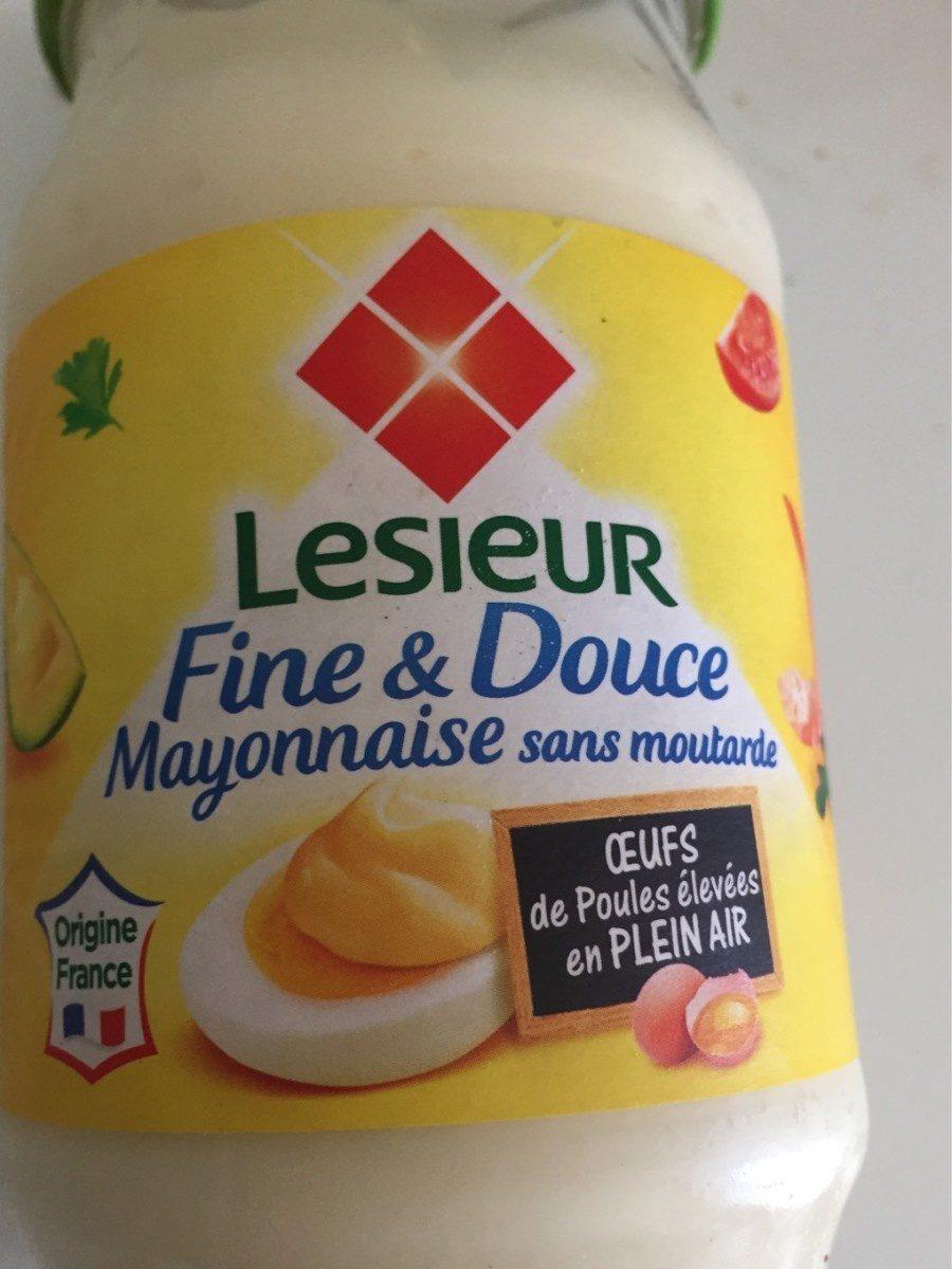 Mayonnaise fine et douce sans moutarde - Produit