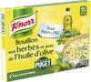 Knorr Bouillon Cube Herbes et Huile D'Olive Puget 15 Cubes - Product