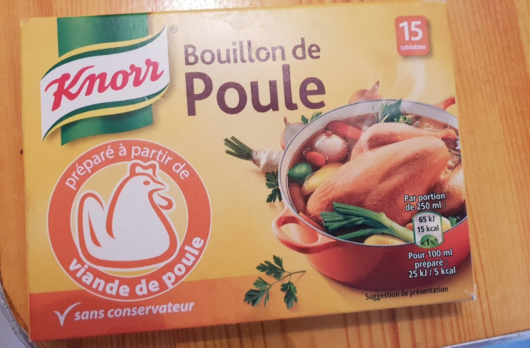 Knorr Bouillon de Poule 150g - Produit - fr