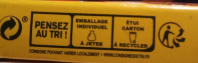 Knorr Bouillon de Poule 150g - Recycling instructions and/or packaging information - fr
