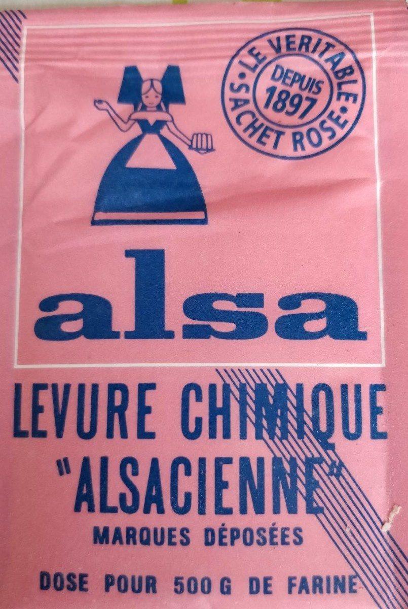 Levure Chimique, 10 Sachets, Marque L'alsacienne - Prodotto - fr