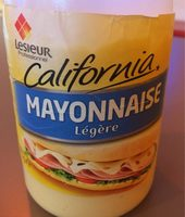 950ML Sauce Mayonnaise Californienne Lesieur - Nutrition facts - fr