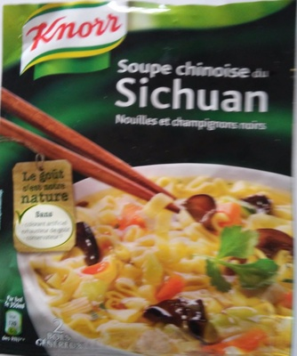 Soupe chinoise - Product