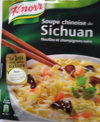Soupe chinoise - Voedingswaarden