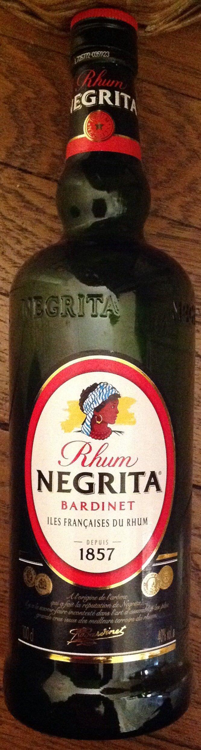 Rhum Negrita - Product - fr