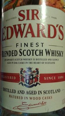 Sir Edward's Finest Blended Scotch Whisky - Produit