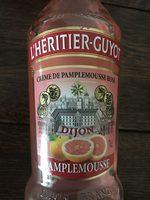 Crème de pamplemousse - Produit