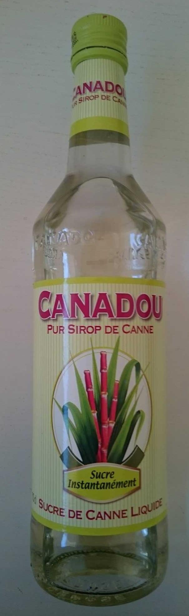 Canadou pur sirop de canne - Produit - fr