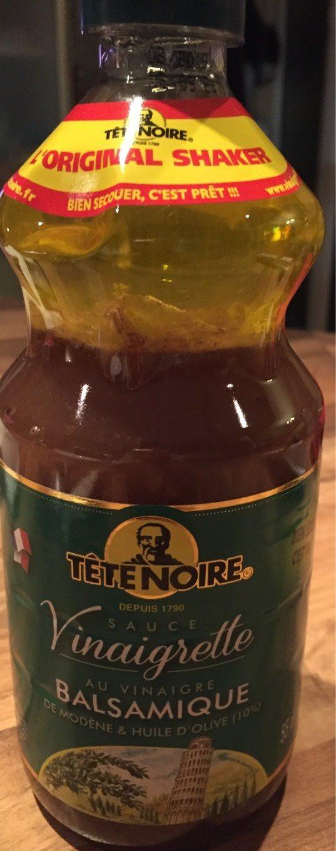 Vinaigrette au Vinaigre Balsamique de Modène et Huile d'Olive (10%) - Produit - fr