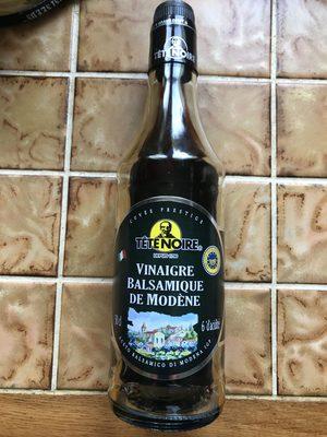 Vinaigre Balsamique Tete Noire, 6° - Produit - fr