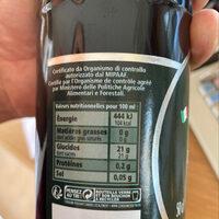 Vinaigre Balsamique de Modène IGP - Informations nutritionnelles - fr