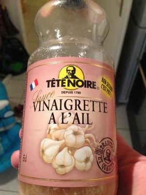 Sauce Vinaigrette à l'ail - Produit - fr
