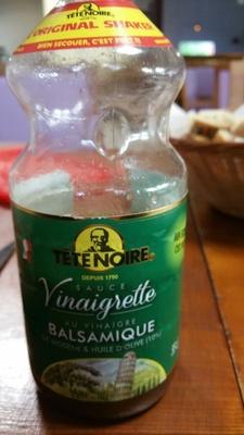 Sauce Vinaigrette à l'huile d'olive et Vinaigre Balsamique - Produit - fr