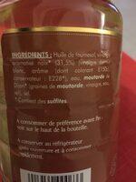 Vinaigrette Légère Huile d'olive et Vinaigre Balsamique - Ingrediënten - fr