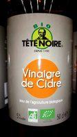 Vinaigre de cidre Tête Noire Bio - Produit - fr