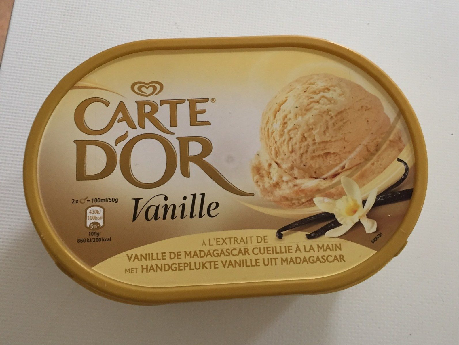 Carte D'or Vanille - Product