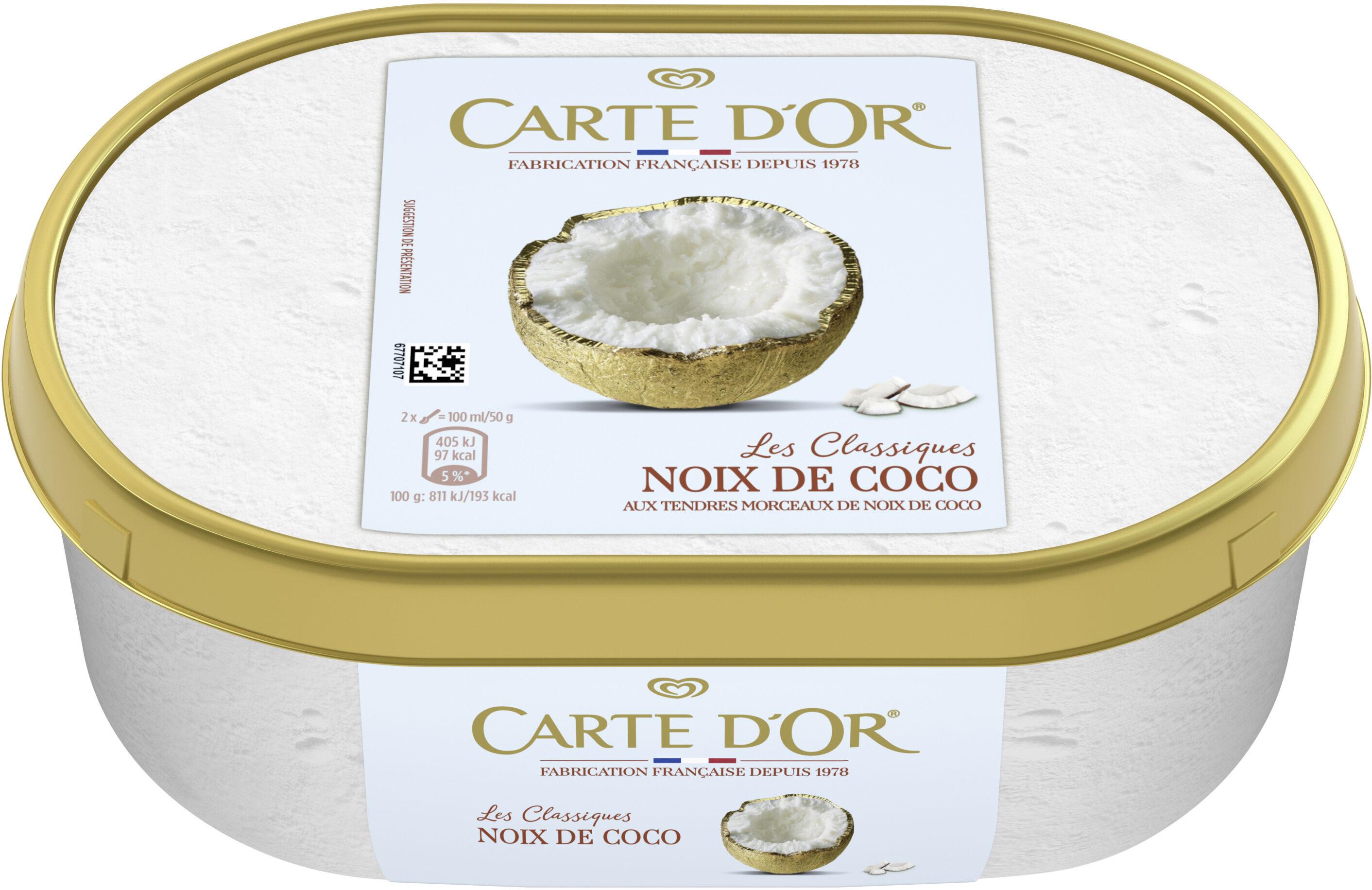 Carte D'or Glace Noix de Coco 1000ml - Product - fr