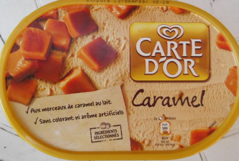 Crème glacée Caramel - Product - fr