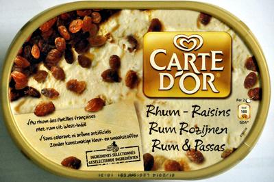 Glace rhum-raisins - Product - fr