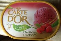 Sorbet framboise plein fruit - Produit
