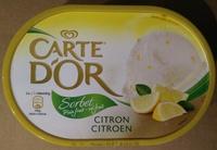 Sorbet Plein Fruit Citron - Produit