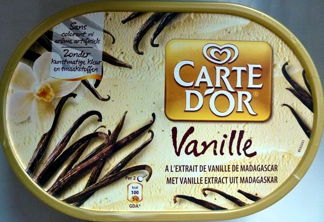 Glace vanille - Product