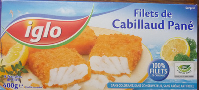 Filets de Cabillaud Pané, Surgelé - Produkt - fr