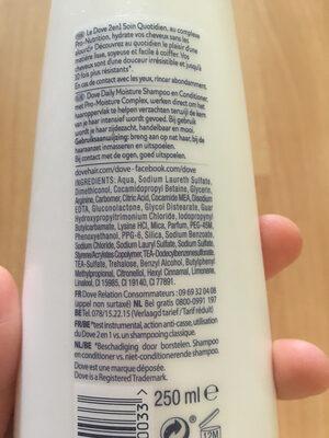 Dove Shampoing Soin Quotidien 2 en 1 - Ingredienti - fr