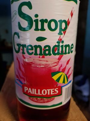 Sirop De Grenadine 1 Litre - Product - fr