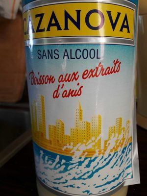 Anise sans alcool CAZANOVA - Produit - fr