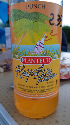 royal palmer planteur - Product - fr