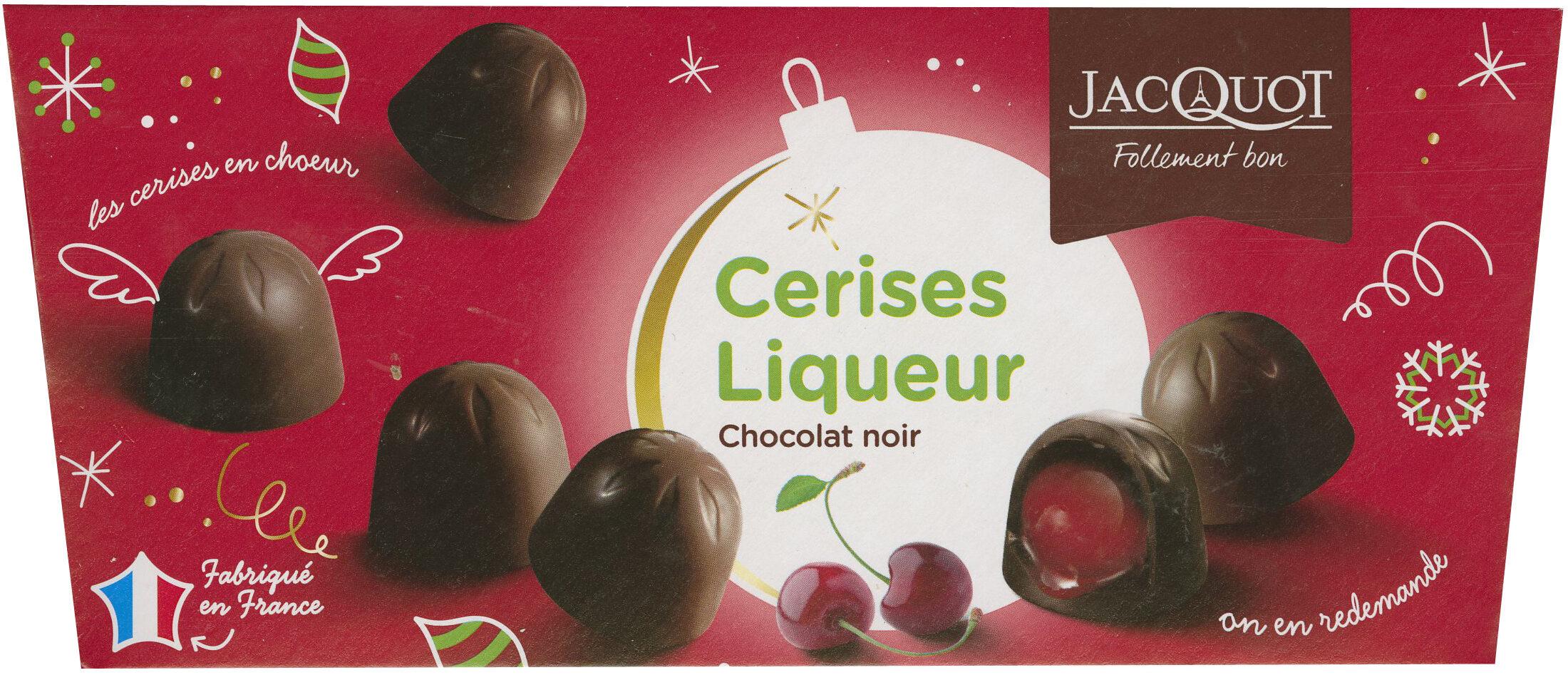 Cerises Liqueur Chocolat Noir - Prodotto - fr