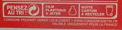Chocolat noir boules praliné - Instruction de recyclage et/ou information d'emballage - fr