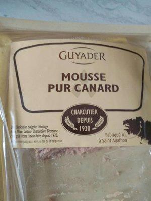 Mousse pur canard - Produit