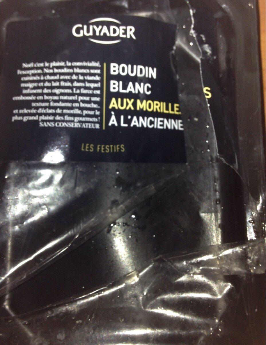 Boudin blanc aux morilles à l'ancienne - Produit - fr