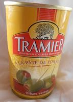 Olives vertes à la pâte de poivron - Product - fr