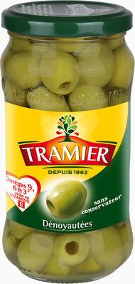 Olives vertes dénoyautées 160g - Produit - fr