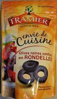 Olives noires confites en rondelles - Produto - fr