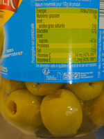 Olives vertes dénoyautées -25% de sel - Instruction de recyclage et/ou information d'emballage - fr