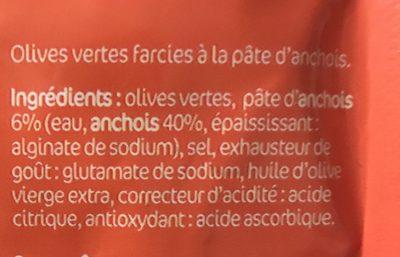 Olives apero - Ingrediënten - fr