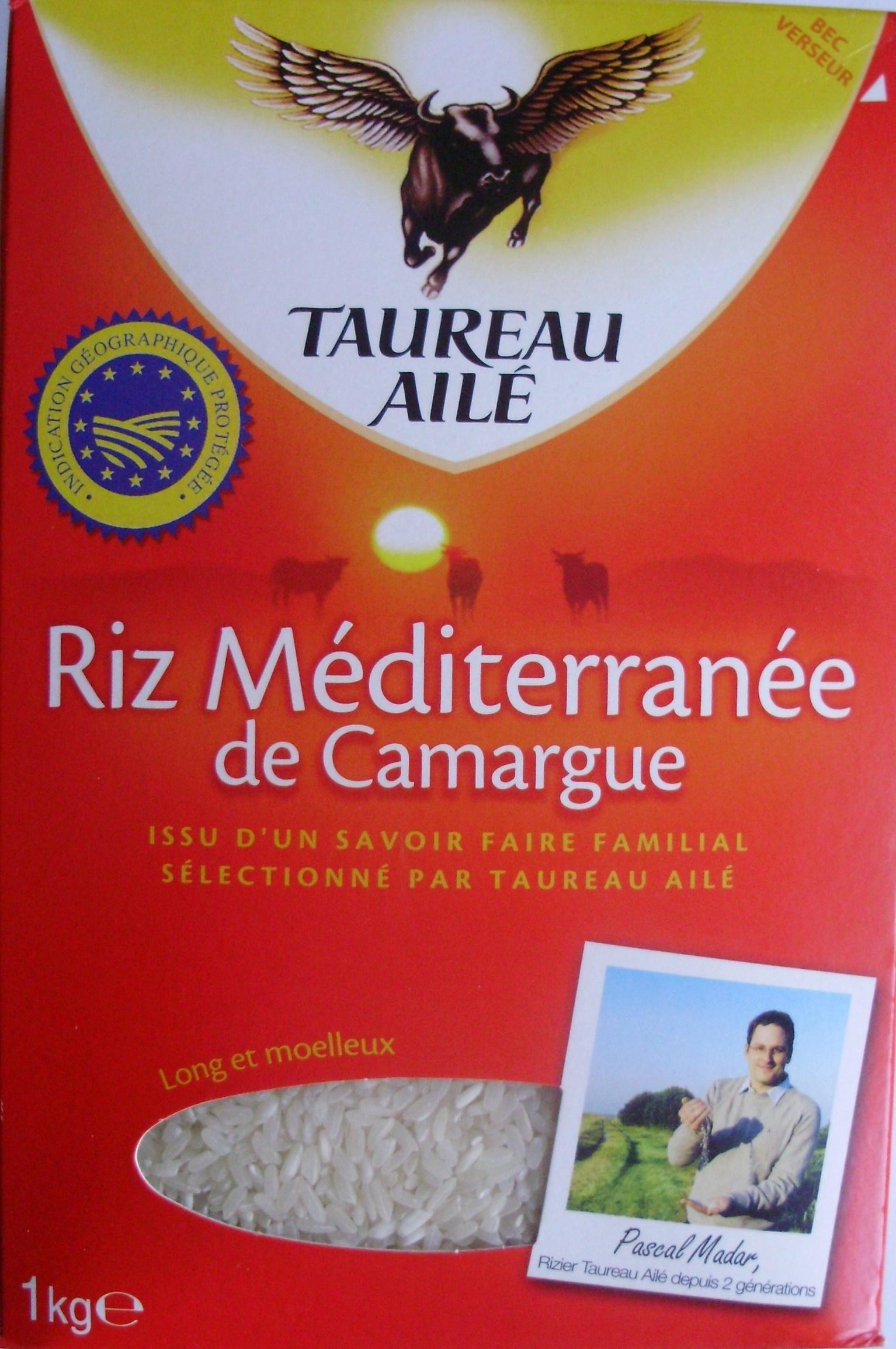 0ca5709d6c6 Riz Méditerranée de Camargue IGP - Taureau Ailé - 1 kg