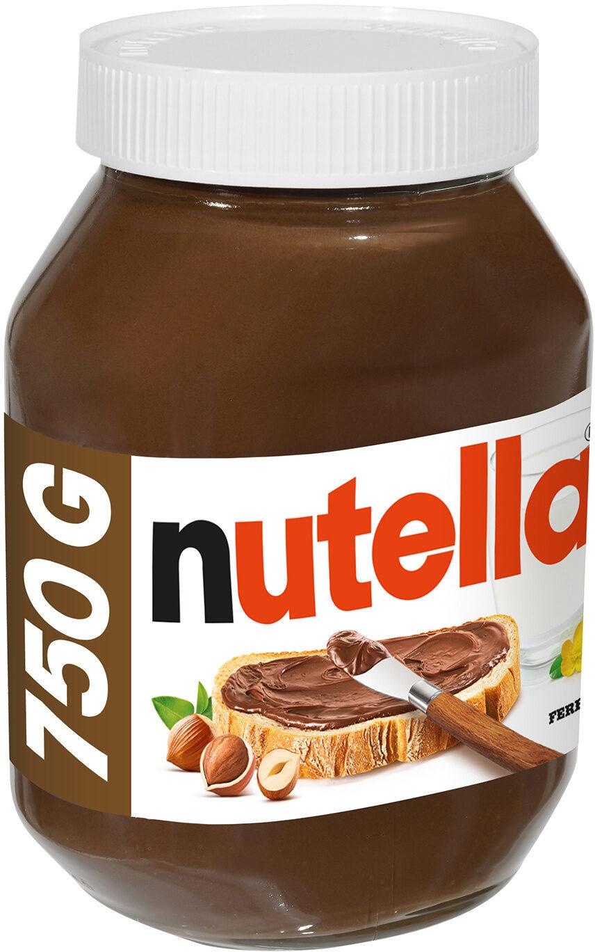 Nutella pate a tartiner noisettes-cacao t.750 pot de 750 gr - Producto - es