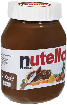 Nutella pate a tartiner noisettes-cacao t.750 pot de 750 gr - Produkt - fr