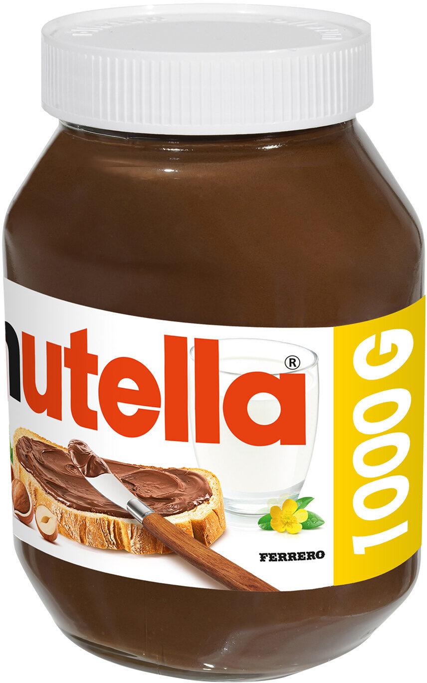 Nutella pate a tartiner noisettes-cacao t.1000 pot de - Produit - fr