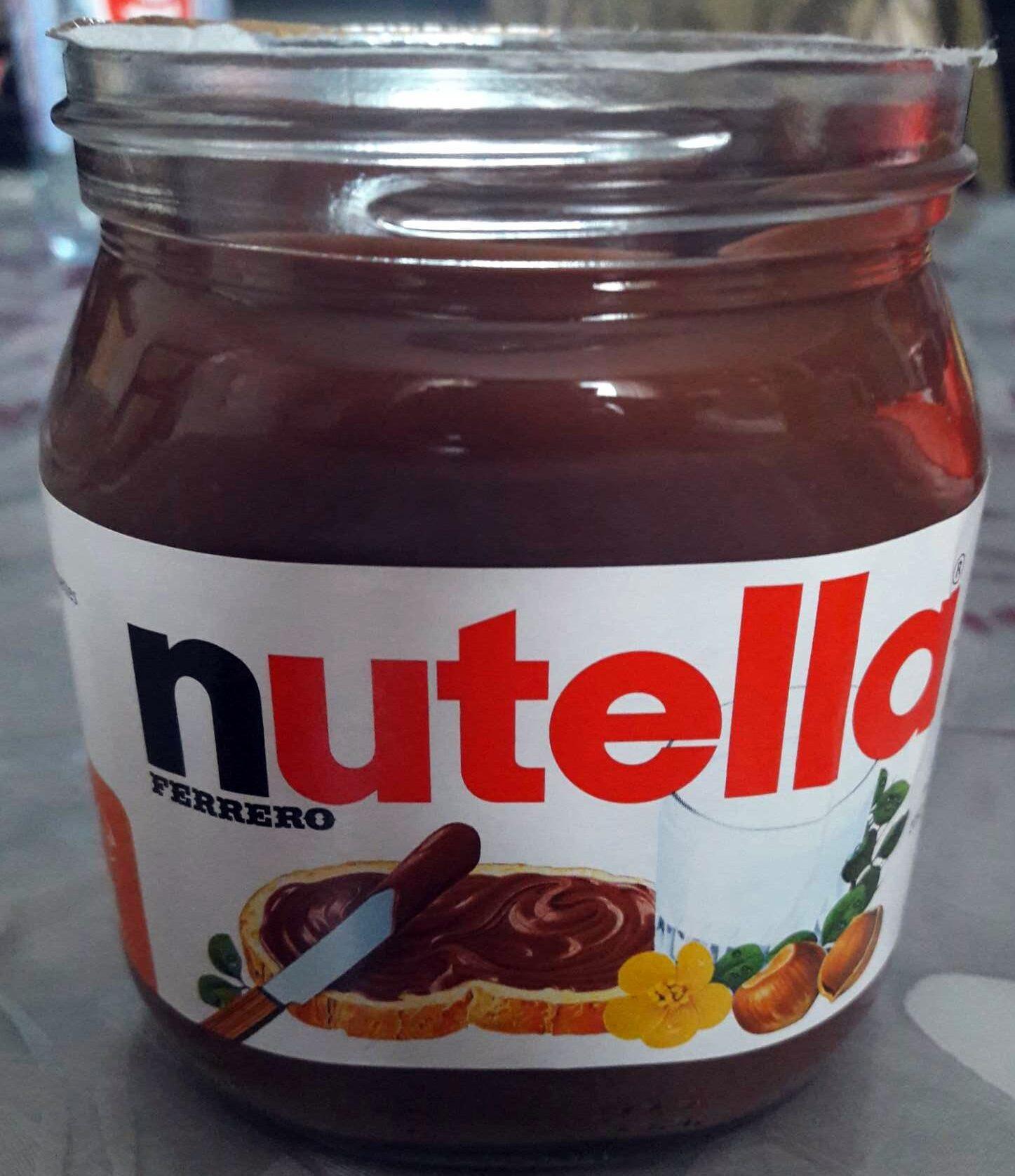 Nutella pate a tartiner noisettes-cacao t825 pot de 825 gr - Producto - es
