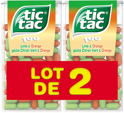 Tic Tac Duo T100x2 - Product - fr