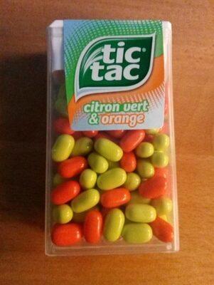 Tic Tac Duo T100x2 - Voedingswaarden - fr