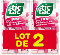 Tic Tac Duo De Fraises  T100x2 - Product
