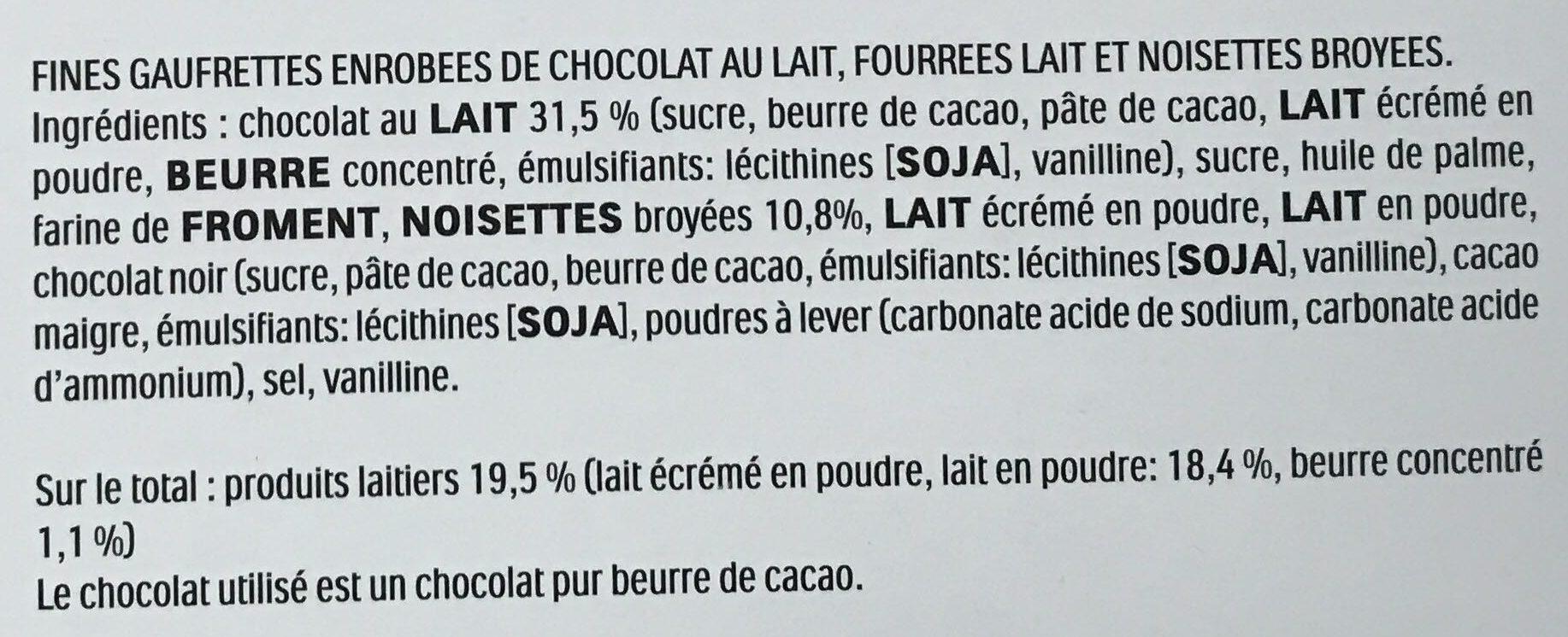 Bueno - Ingredienti - fr