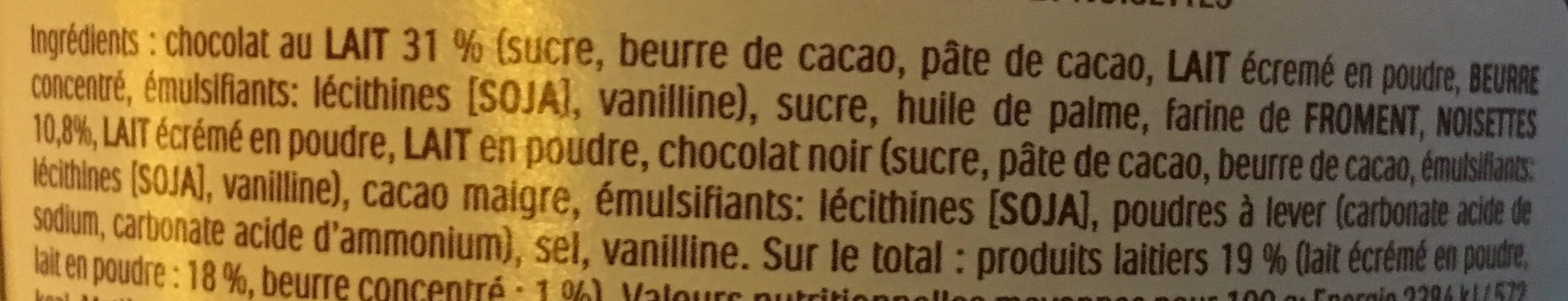 Kinder bueno mini - Ingredienti - fr